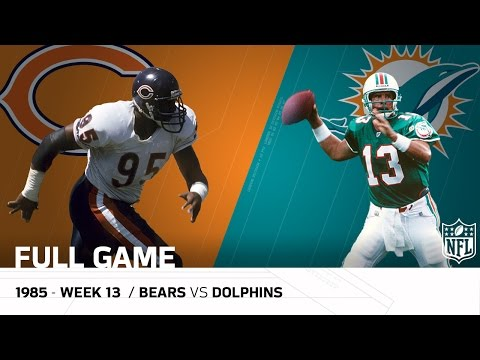 Video: Dolphins End '85 Bears Undefeated Season (Week 13, 1985) | Bears vs. Dolphins (FULL GAME) | NFL