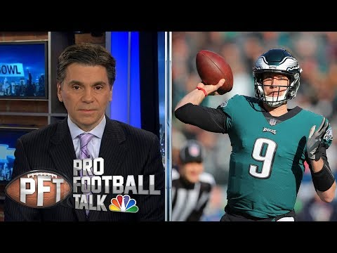 Video: Eagles' Nick Foles can raise his value with another playoff run | Pro Football Talk | NBC Sports