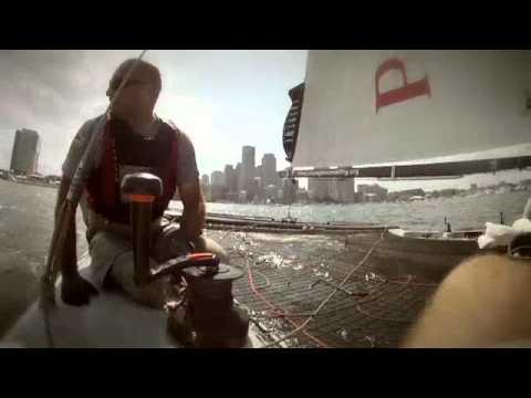 Xtreme 40 sailing fun in Boston