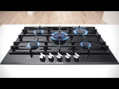 Bosch FlameSelect Gas Cooktop innovation