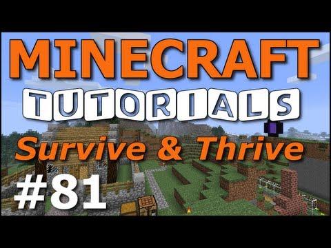 Minecraft Tutorials – E81 Horse Breeding 101 (Survive and Thrive Season 6)