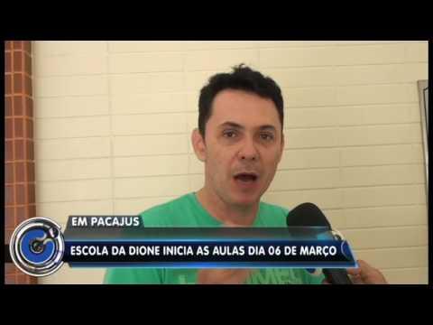 Em Pacajus-CE/ Escola estadual Dione Pessoa iniciará aulas em 6 de março/2017