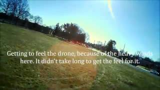 The Hubsan H502S first flight 2_20_2017_Monday.  tomhbeatle