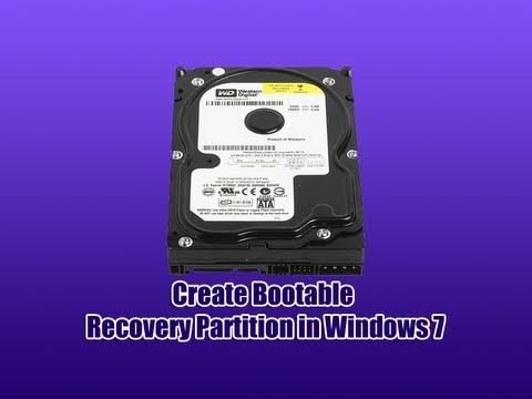 create - Create Bootable Recovery Partition in Windows 7 In this tutorial we will create a recovery partition, so your going to need EasyBCD and a Windows 7 CD. Your ...