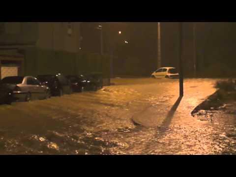 Inundaciones en las Urbanizaciones de La Pobla de Vallbona 2012