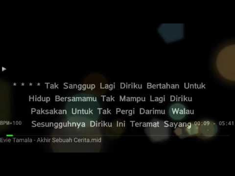 Video Karoke Akhir Sebuah Cerita Evie Tamala no Vocal HQ audio download in MP3, 3GP, MP4, WEBM, AVI, FLV January 2017