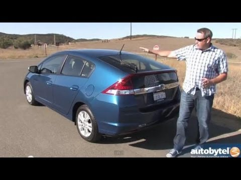 2013 Honda Insight EX Hybrid Video Review