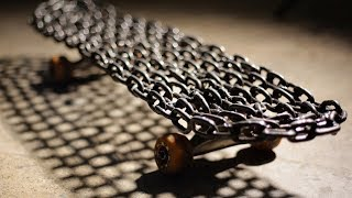 Video SUPER HEAVY WELDED CHAIN LINK SKATEBOARD | YOU MAKE IT WE SKATE IT EP 148 MP3, 3GP, MP4, WEBM, AVI, FLV Agustus 2017