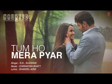 Video Tum Ho Mera Pyar Haunted Full Song Lyrical Video | KK, Suzanne D'Mello download in MP3, 3GP, MP4, WEBM, AVI, FLV January 2017