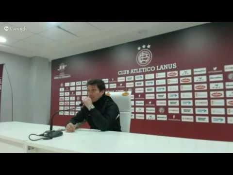 Conferencia de Guillermo previo a Independiente