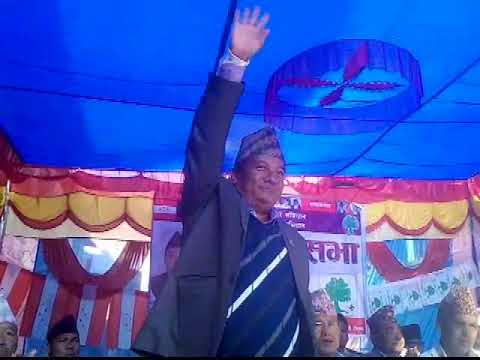 (Election campaign in Rolpa - Duration: 80 seconds.)