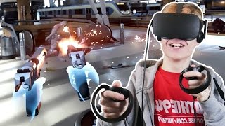 Video EPIC SHOOTER GAME WITH OCULUS TOUCH! | Bullet Train VR (Oculus Rift CV1 Gameplay) download in MP3, 3GP, MP4, WEBM, AVI, FLV Februari 2017