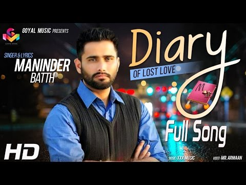 Video Maninder Batth | DIARY of Lost Love |  Xxx Music (Jassi X) download in MP3, 3GP, MP4, WEBM, AVI, FLV January 2017
