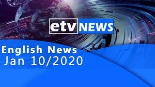 English News Jan 10/2020