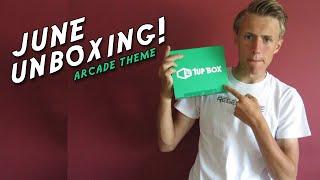 1UP BOX - JUNE UNBOXING - #Arcade