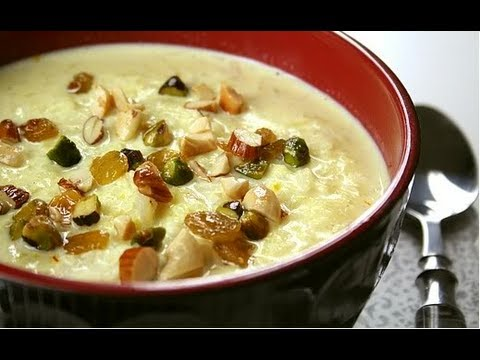 Recipe – Badam Carrot Kheer (Almond & Carrot Pudding) Recipe With English Subtitles
