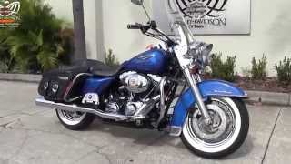 6. 2007 Harley Davidson FLHRC Road King Classic for sale in Riverview FL