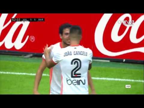 Valencia vs Barcelona 2-3 All Goals & Highlights 22.10.2016