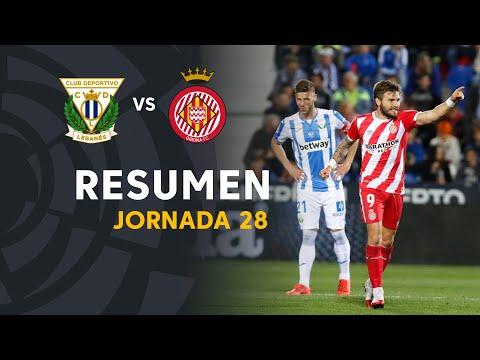 Resumen de CD Leganés vs Girona FC (0-2) - Thời lượng: 91 giây.