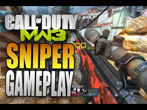 mw3 sniper gameplay - Modern Warfare 3 Sniper FFA Multiplayer Gameplay on Seatown. My first Modern Warfare 3 video since Ghosts was released! Second game on and I get a 30 K/D!! B...
