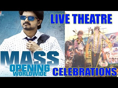 Bairavaa Live Theatre Celebrations ..