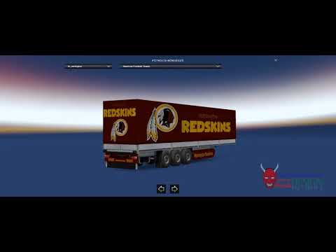 Trailer Package NFL (American Football) Teams 1.30.x