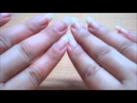 kannucreative tapping and scratching with her natural nails (video 23)