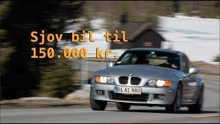 Vi tog til Norge for at finde de bedste køreveje. Mathias fra Bil Magasinet tog sin egen Z3 Coupe med. Her giver Anders Richter...