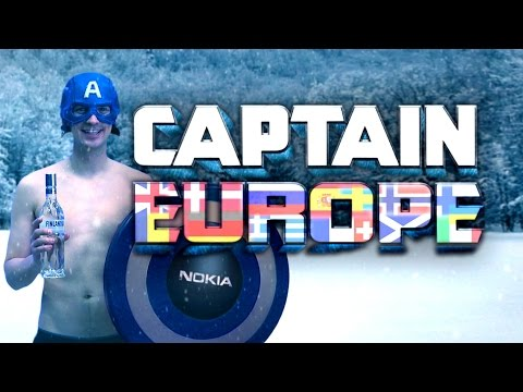 Captain Europe Captain America Parody