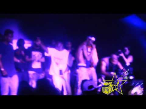 """Lajan Slim"" raps for ""Lil Durk"" & Performs live in Miami (Fire!!)"