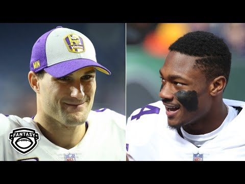 Video: Which Vikings will be fantasy studs in 2019? | Fantasy Focus Live