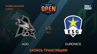 AGO vs Euronics, game 1