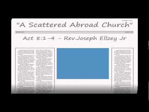 Joseph Ellzey Jr - Act 8:1- 4 @ Emmanuel Baptist Church - 2/22/15