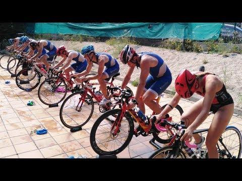 Jornada de entrenamiento en transiciones de l@s triatletas del Team Clavería
