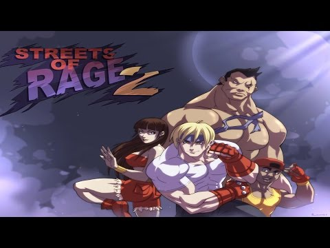 Streets of Rage 2 Wii