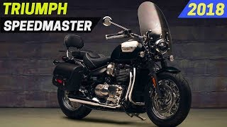 10. AWESOME! 2018 Triumph Bonneville Speedmaster - More Touring Capability and Cruiser Styling