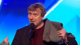 Video Britain's Got Talent 2018 Noel James Hilarious Comedian Will Have You ROFL Full Audition S12E04 MP3, 3GP, MP4, WEBM, AVI, FLV Mei 2018