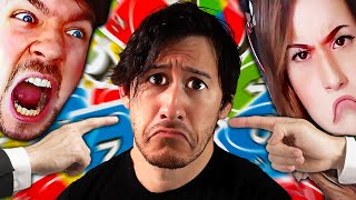 BEING BULLIED BECAUSE I'M AMAZING AT UNO | UNO w/ JackSepticEye and Pokimane by Markiplier