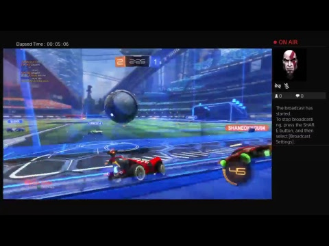 Saturday night Rocket league live