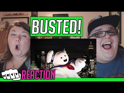 Ghostbusters vs Mythbusters. Epic Rap Battles of History Season 4. REACTION!! 🔥