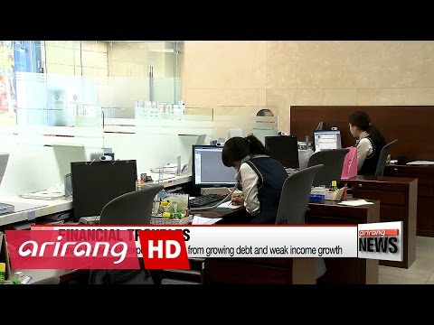 Korean households exposed to risks from growing debt and weak income growth
