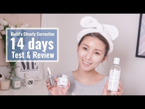 14日淡斑實測 ft. Kiehl's 激光極淨白系列 #7日有感! Kiehl's Clearly Corrective 14 days Test & Review