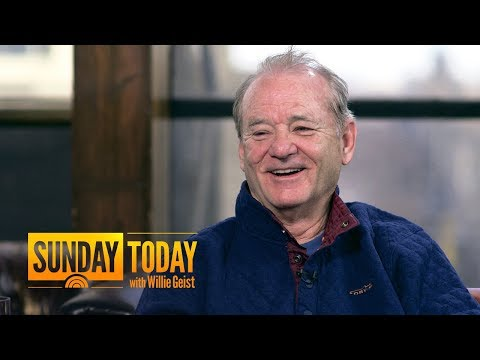 Bill Murray Gives Wes Anderson An 'Automatic Yes' When He Calls His 1-800 Number   Sunday TODAY