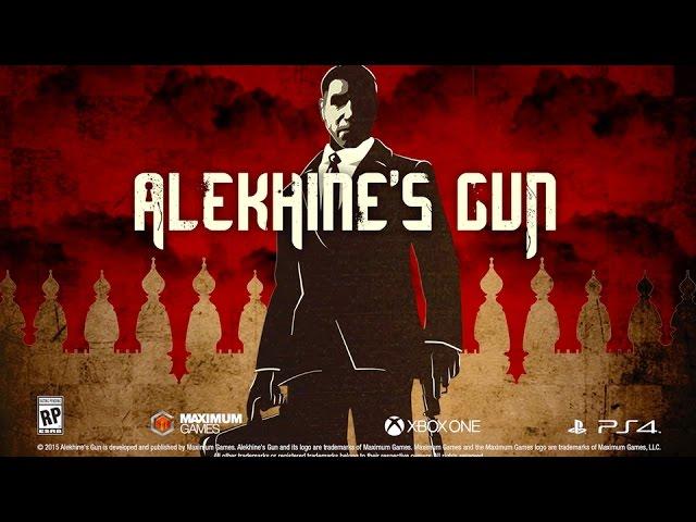 Видео к игре Alekhines Gun