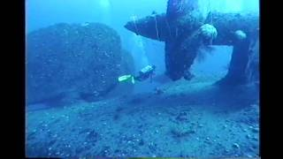 The wreck of IJN battleship Nagato is one of the most spectacular dive sites in the lagoon at Bikini Atoll. Due to its depth (about...