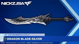 A variant for Dragon Blade, but this one doesn't have the attacking effects as in the original one. Still it does high damage on RMB ...