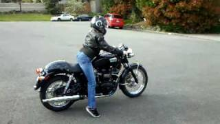 5. First time ride on 2004 triumph bonneville black