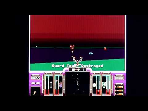 Apocalypse on Acorn Archimedes A3010. Gameplay & Commentary