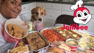 Video Epic Jollibee Food Challenge / Mukbang 5k Subs Thankyou! MP3, 3GP, MP4, WEBM, AVI, FLV April 2018