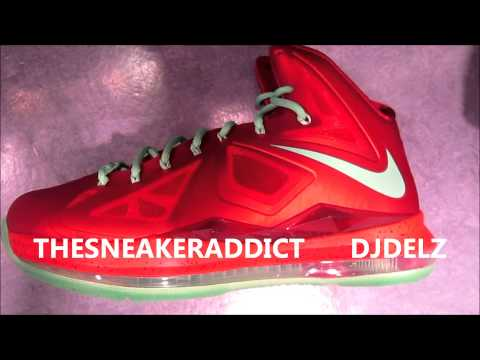 Nike Lebron 10 Xmas Christmas X Sneaker Review With Delz